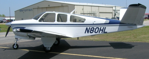 Bonanza converted to IO-550 Engine